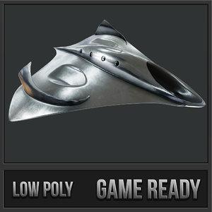 roswell ufo pbr 3D model