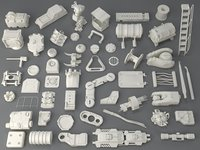 kit bashes - 54 3D model