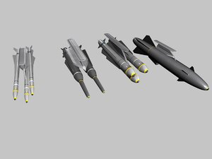 3D airfighter weapons