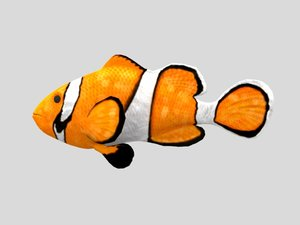 animations fish model