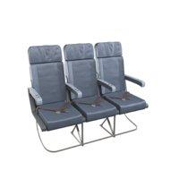 aircraft seat 3D