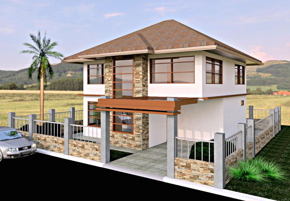 2 house model