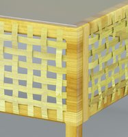 rattan chair outdoor model