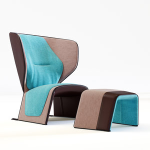 armchair 570 gender 3D