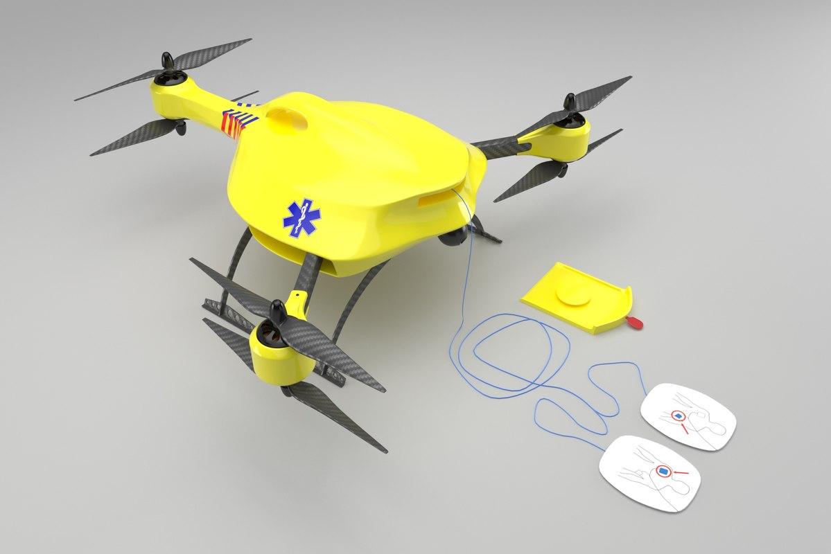 3D ambulance drone