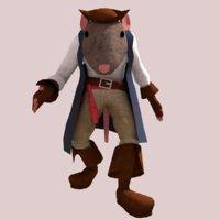 Pirate Capitan Rat