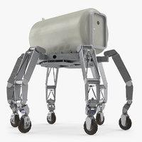lunar rover cargo module 3D model