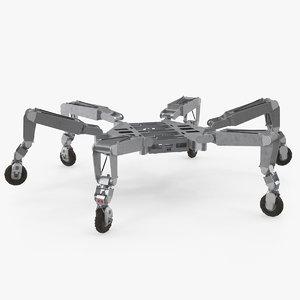 all-terrain hex-limbed extra-terrestrial explorer model