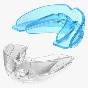 3D braces correction retainers model