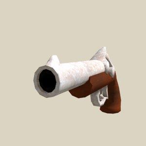 pirate gun 3D