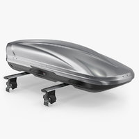 3D car roofbox trunk generic model