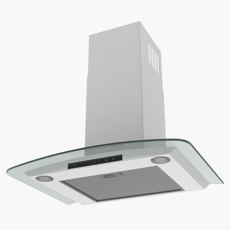 3D chimney cooker hood generic