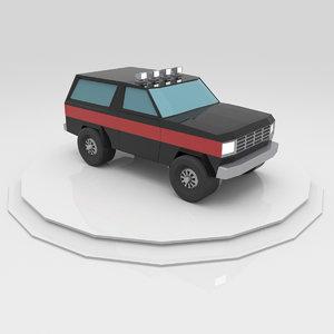 3D model racing