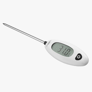 3D digital probe cooking thermometer