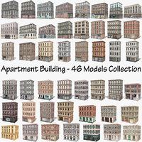 Apartment Building - 46 Models Collection