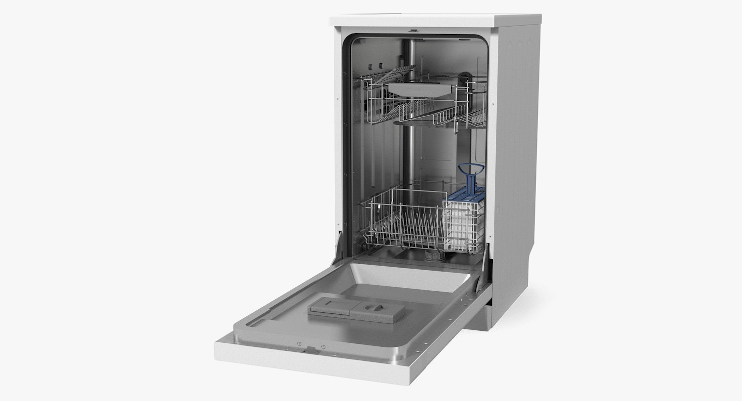 dishwasher samsung 3D model