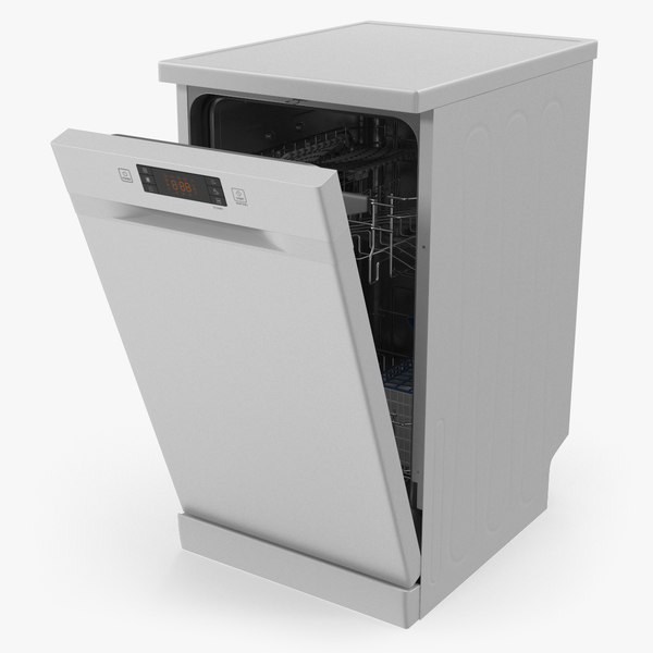 control dishwasher machine 3D model