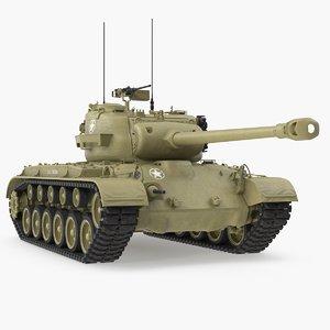 heavy tank m26 pershing 3D