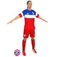 Female Soccer Player N3