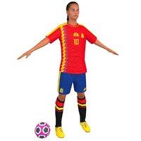 Female Soccer Player N4