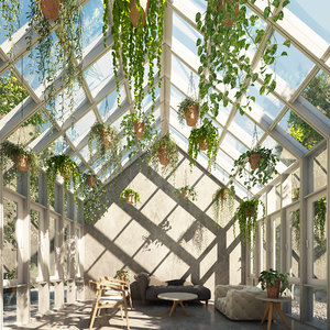 3D model tree plants