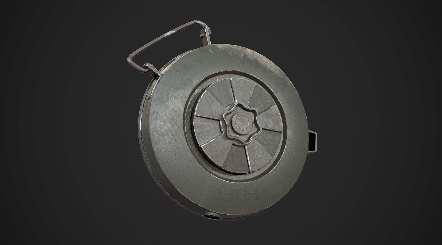 land aaa games weapon 3D model