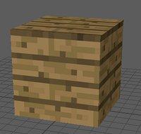 3D plank minecraft