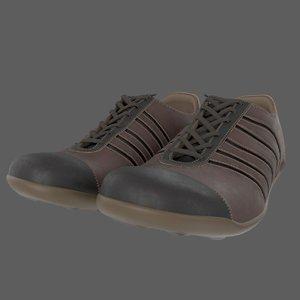 shoe tennis 3D model