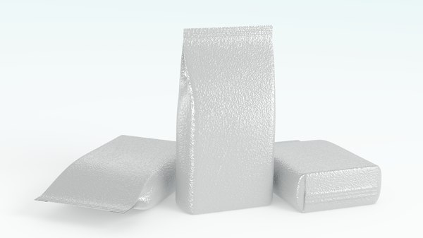 3D detergent bag model