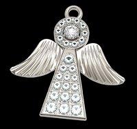 pendant angel 3D