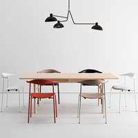 carl hansen dining set model