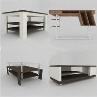3D modern tables