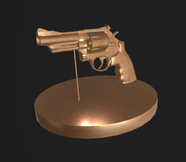 3D revolver stand