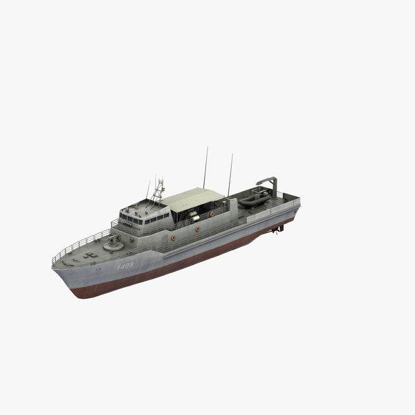 hendijan class patrol boat model