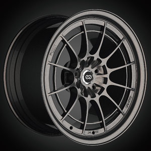 enkei nt03 m wheels 3D model
