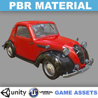 Low poly PBR Realistic Dirty Simca 5