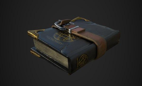 3D spell book