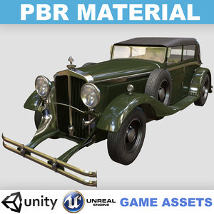 pbr realistic maybach ds8 3D model