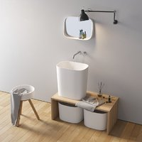 Washbasin Rexa Design Fonte set 2