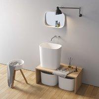 3D model fonte washbasin designers