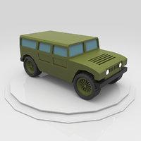 3D car truck