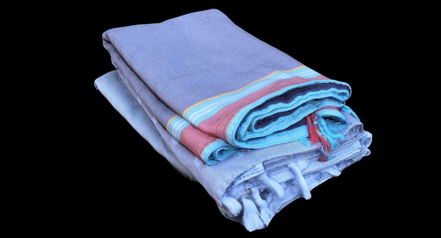 3D pile clothes towels
