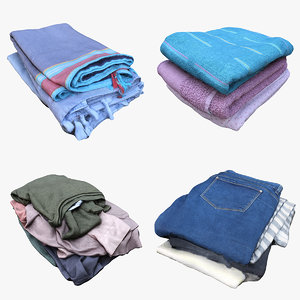 3D pile clothes towels