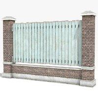 3D model fence games