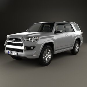 toyota 4runner 4 3D model