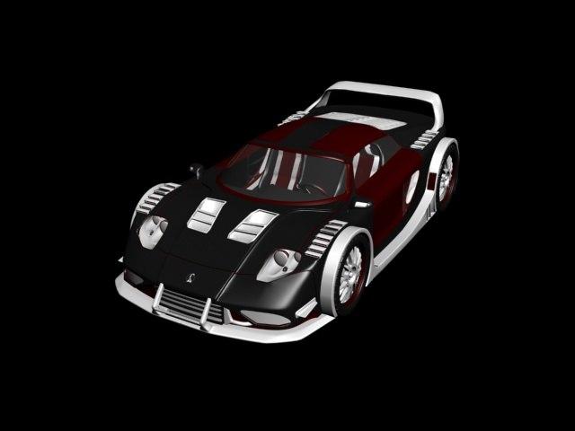 3D model bruttus 7-xr