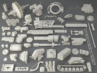 Kit bash(54 pieces) - collection-7