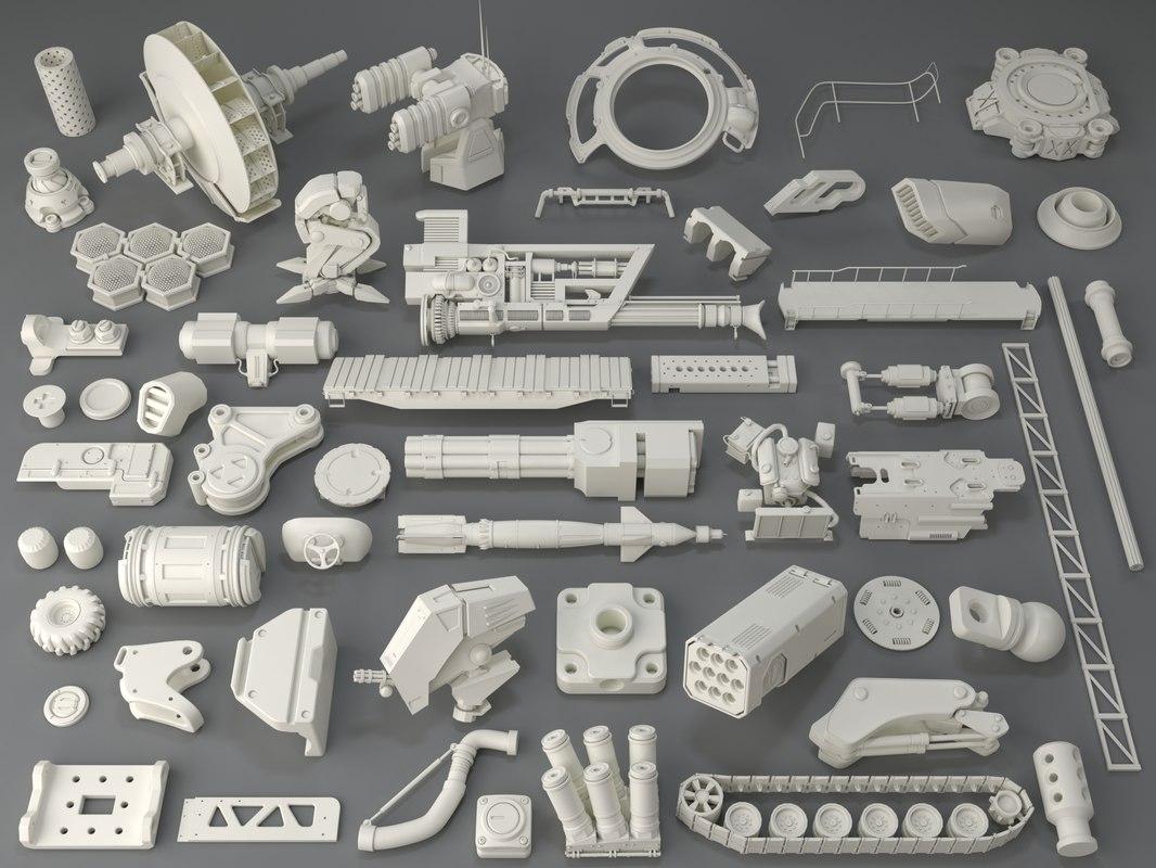 kit bashes - 54 3D