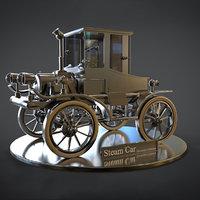 steampunk car design model
