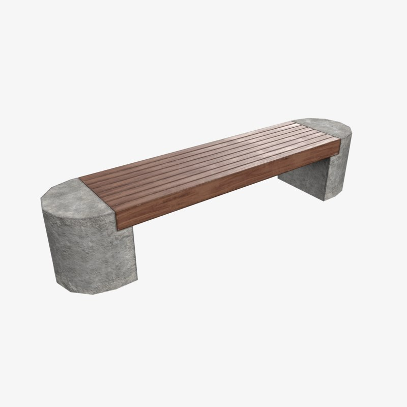 3D bench ready games model